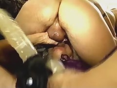 Depraved tgirl n guy humilate mature straight girl
