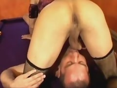Amazing sunburnt tranny gets fucked with boyfriend